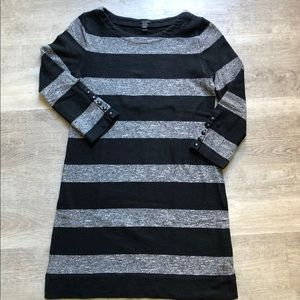 JCrew striped cotton dress size XXS